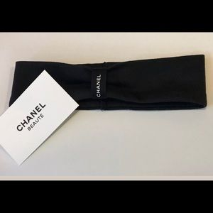 NEW Chanel Black Headband VIP Gift with Purchase